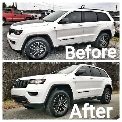 Jeep Grand Cherokee Lift Kit >> 2016 2019 Jeep Grand Cherokee Leveling Kit Quadralift Trailhawk Overland Summit Ebay