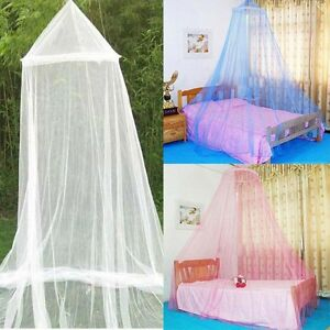 Image is loading Portable-Insect-Mosquito-Fly-Bug-Net-Netting-Screen- & Portable Insect Mosquito Fly Bug Net Netting Screen Bed Canopy ...