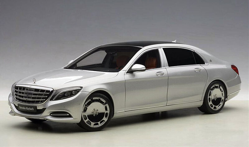 Autoart 1 18 Mercedes Benz Maybach S-Clase S600 Plata 76292