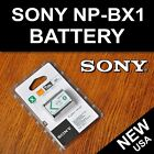 New NP-BX1 Battery for Sony DSC-RX100 II DSC-RX1 HDR-AS15 HDR-AS10 HX300 WX300
