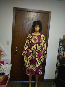African-wax-print-dress