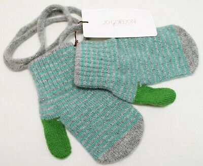 Size Age 6 to 9 yrs NEW WITH TAGS, JO GORDON 100/% LAMBSWOOL MITTENS