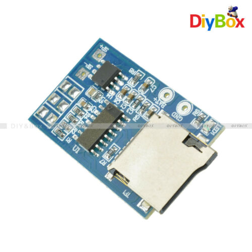 1//2//5PCS MP3 Decoder Board TF Card 2W Power Module 3.7-5V Mono Playback Memory