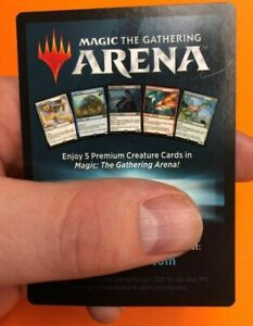 MTG-Magic-the-Gathering-Arena-Geschenk-Pack-2018-exklusive-Kreatur-Code