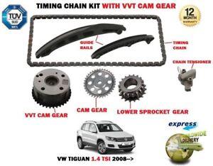 Para-VW-Tiguan-1-4-TSI-4-Motion-2008-gt-Cadena-Transmision-Kit-Tensionador-Vvt