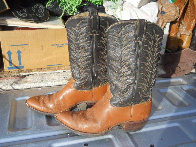 Vintage Sz Distressed Justin  Western Cowboy Boots Men's Sz Vintage 9 D 811b43