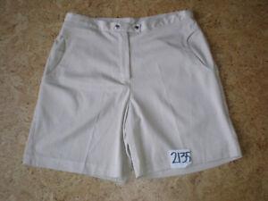 Size-10-Bette-amp-Court-Women-039-s-4-Pocket-TAN-Adjustable-Waist-Golf-Shorts