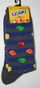 Unique Mason Dots Chewy Candy New Pair Socks French Fits 6-12