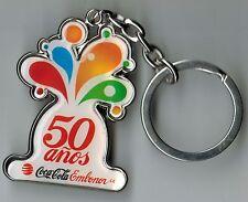 Chile Keychain Coca Cola 50 años Embolnor S.A.