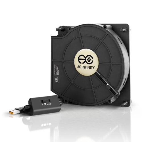 Quiet 120mm USB Blower Fan MULTIFAN S2 for Receiver DVR Xbox Modem AV Cooling