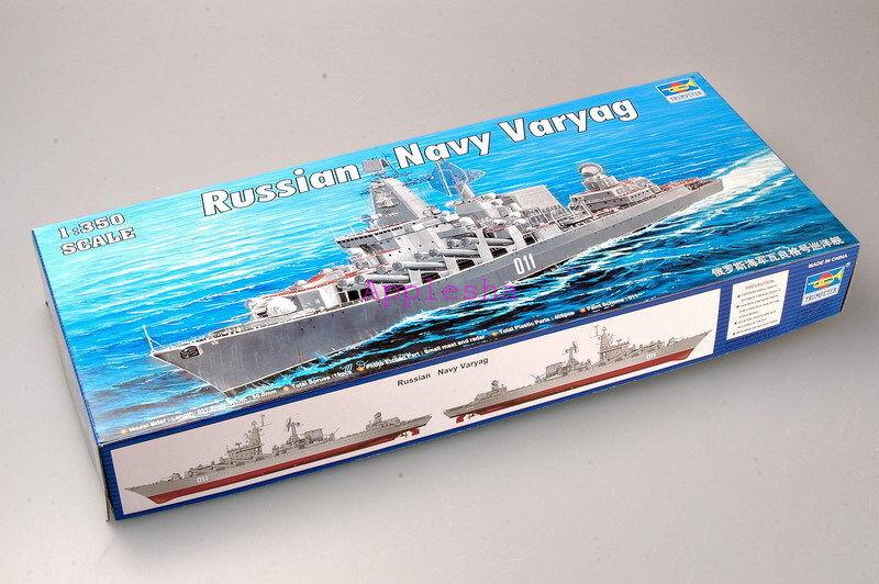 Trumpeter 04519 1 350 Russian Cruiser Varyag