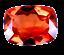 thumbnail 1 - 4.50 Ct Natural Fire Orange Sapphire CERTIFIED Sparkling Tanzania Gemstone