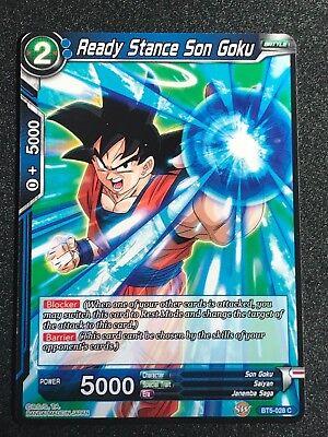 Ready Stance Son Goku BT5-041 C Blue Common Dragonball Super