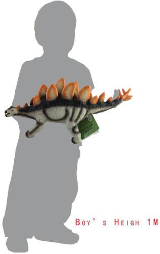 "17/"" 43cm Soft Stuffed Rubber Dinosaur Stegosaurus Jurassic Play Toy Toys"