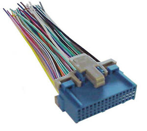 gm factory stereo radio wiring harness 1985 1999 wh 351 image is loading gm factory stereo radio wiring harness 1985 1999