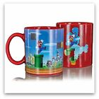 Heat Changing Mug >> SUPER MARIO BROS. LEVEL << Thermoeffekt Tasse - NEW & OVP