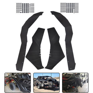 Extend Fender Flares Mud Flaps Set for 2017-2018 Can-Am Maverick X3 Turbo
