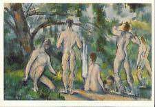 Postcard Cezanne Bathers (1892-94) Moscow Puschkin Museum MINT