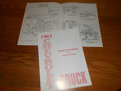 1963 Chevrolet Truck Wiring Diagram, Chevrolet Truck Wiring Diagrams