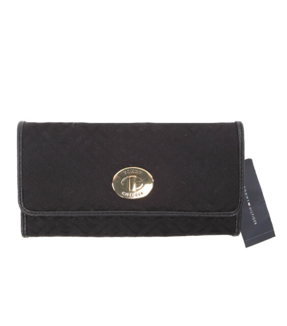 Tommy Hilfiger Women's Long Card Holders Trifold Purse Wallet - $0 Free Ship