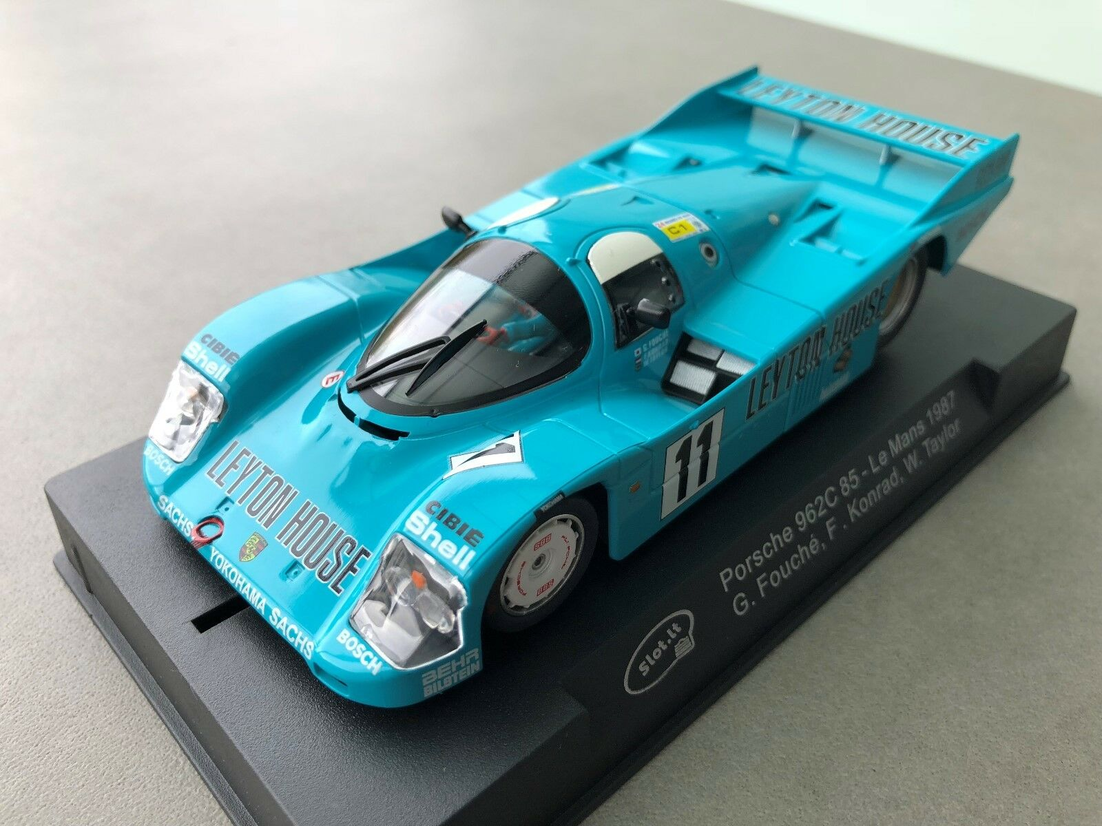 Slot  CA34a Porsche 962C 85 - le Mans 1987 Neuf Emballage Scellé