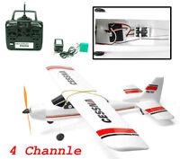 2.4ghz 4-ch Electric Radio Remote Control Airplane Rc Cessna 747 Rc Rtf Epo