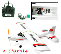 2.4ghz 4-ch Electric Radio Remote Control Airplane Rc Cessna 747 Rc Rtf Epo
