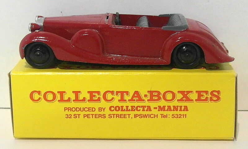Vintage Dinky 38C - Lagonda Tourer - rojo