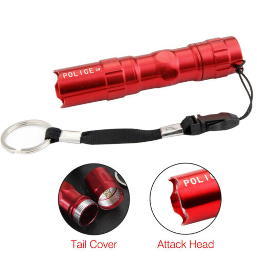 1PC-5PCS Mini 3W  LED Flashlight Medical Penlight Keychain Pen Torch Lamp BR