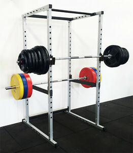 power rack squat cage crossfit stands pull up home gym