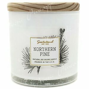 Scentsational-Natural-Soy-5oz-Single-Wick-Candle-Wood-Lid-Northern-Pine-Scent