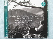 Schubert - Symphony No.9 - String Quartet - Amadeus Quartet - Furtwängler - 2 CD