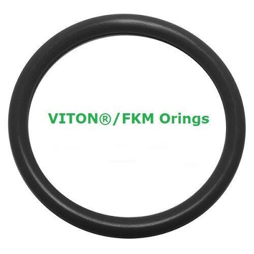Viton Heat Resistant Black O-rings  Size 009 Price for 50 pcs