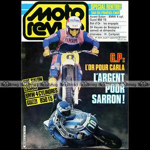 MOTO-REVUE-N-2618-BMW-K-100-GUZZI-850-T5-HAKAN-CARLQVIST-BOL-D-039-OR-24-H-SPA-1983
