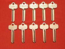 """BEST type key blanks 10 pack /""""G/"""""""