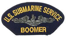 U.S. Submarine Service Iron On Patch FBM Boomer Version Hat Jacket Patch