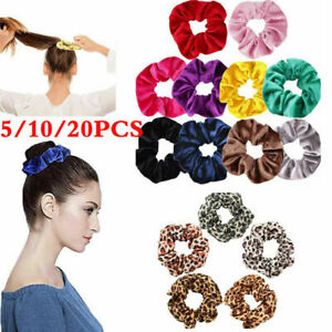 Womens-Hair-Scrunchie-Velvet-Elastic-Hair-Rings-Bands-Ponytail-Rope-Wholesale-yu