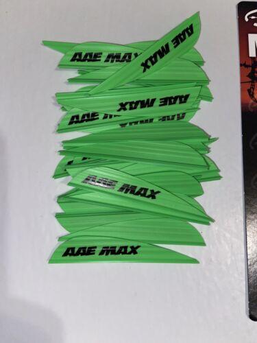 Flethes Vanes Max Stealth Green 36 AAE Fletching Archery Arrow Max Bond Bundle