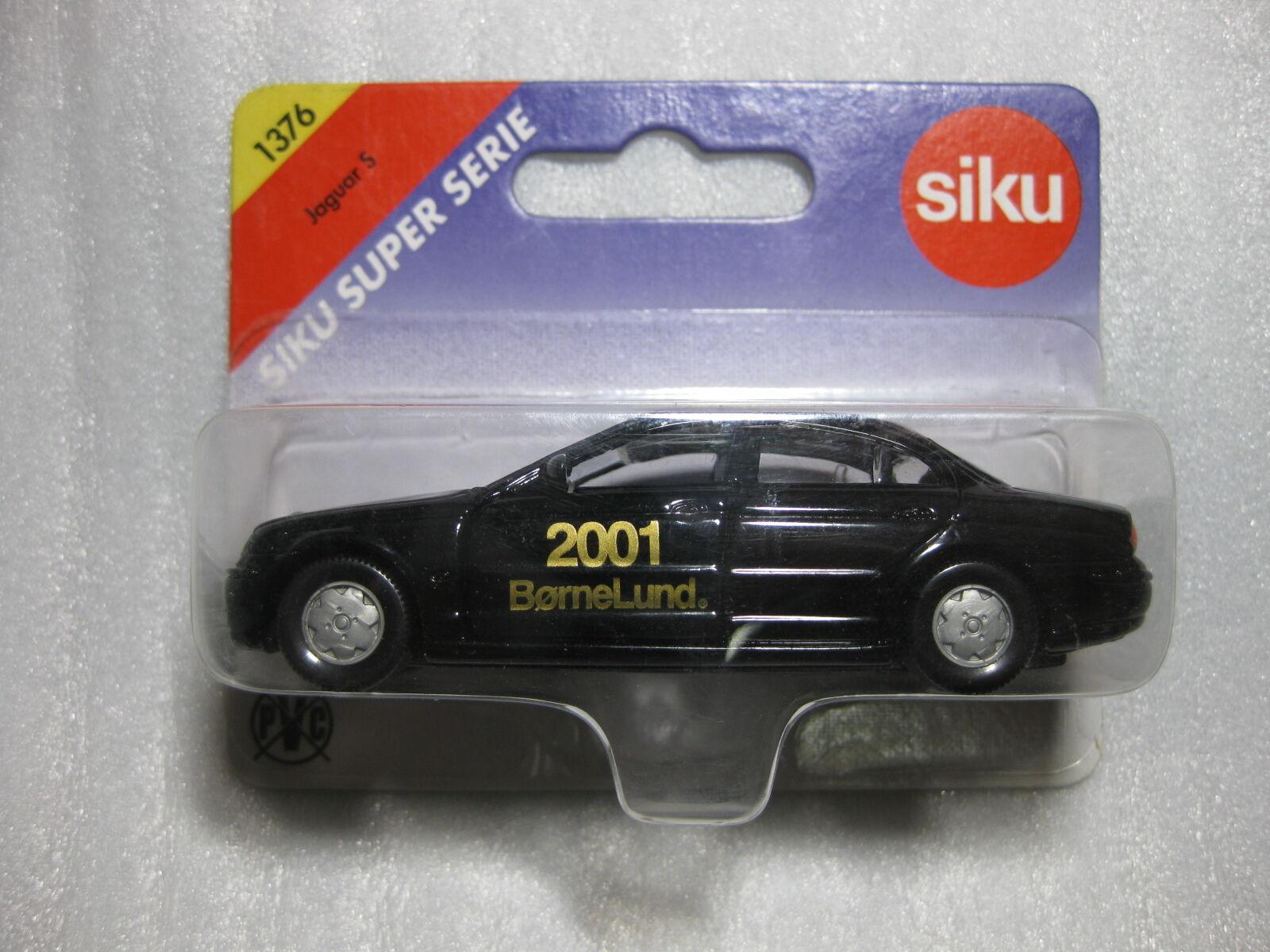SIKU  JAGUAR S 4.0V8 bornelund 2001 Exclusive Diecast model rare promo  vente avec grande remise