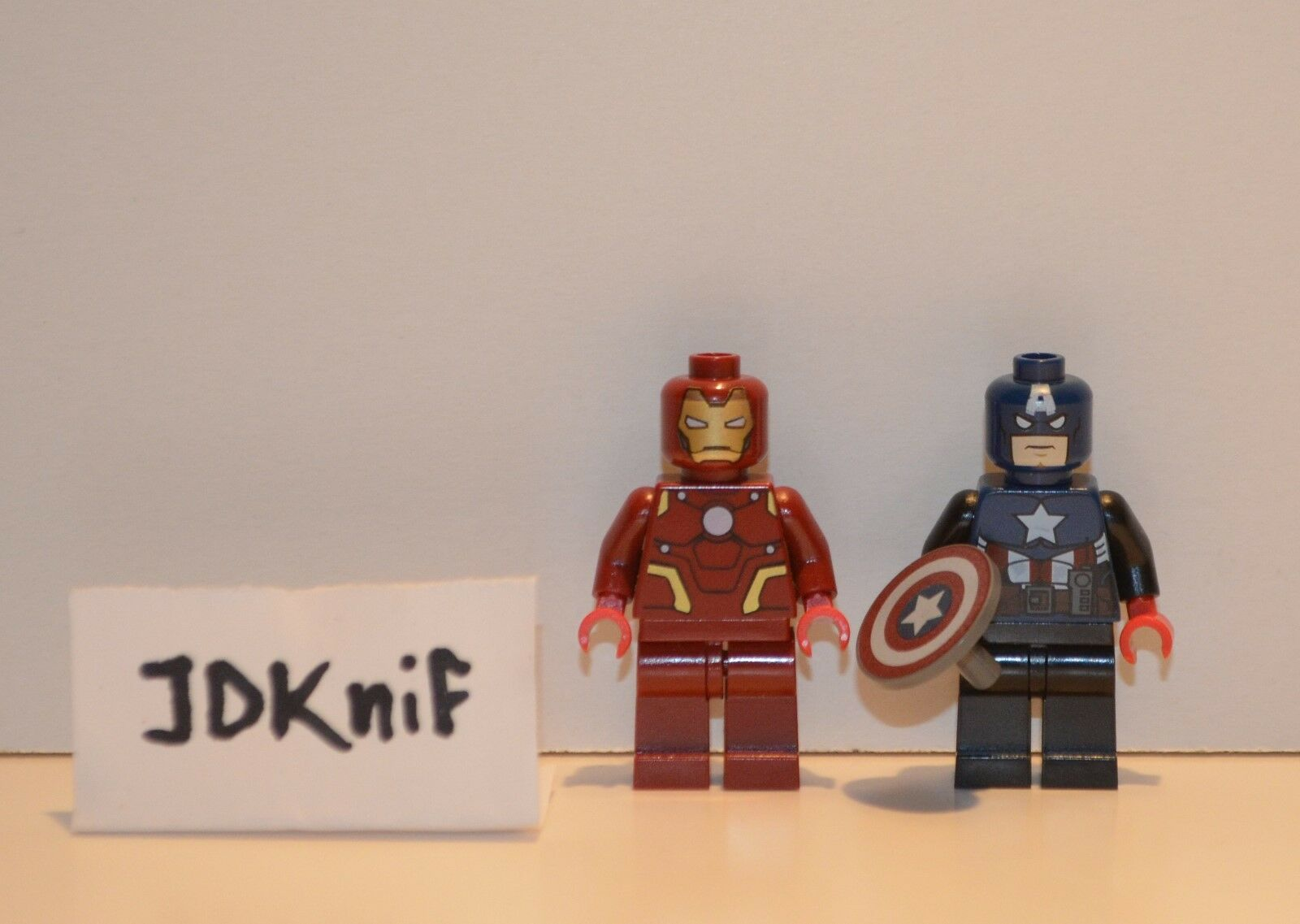 EXLUSIVE OFFER  LEGO SDCC 2012 Exclusive Minifigures Iron Man & Captain America