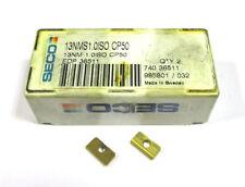 2 Wendeplatten zum Gewindefräsen 13NMS 1,0 ISO CP50 von Seco Neu H15290