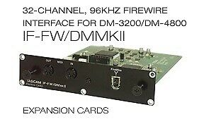 Digital mixer, Tascam DM-3200 inkl. Firewire