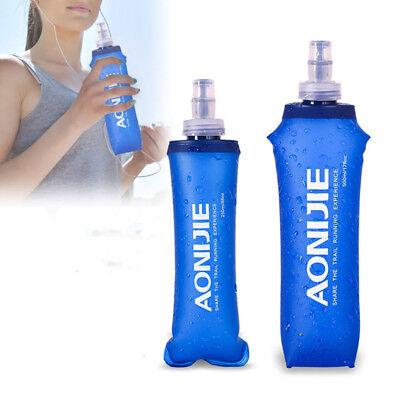 aonijie plegable 500/250ml correr AGUA HERVIDOR Botella Alta Calidad TPU