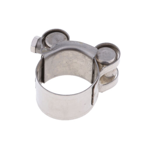 Universal 26-28mm Motorcycle Stainless Steel Exhaust Muffler Pipe Clamp