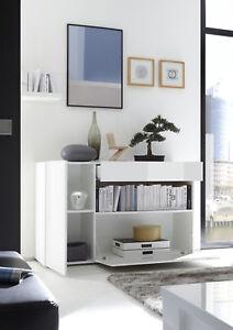 Madia Moderna Per Ingresso.Mobile Conteniore Moderno Madia Ingresso Bianco Lucido