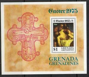 Gren-Grenada-1975-Easter-MS-SG-67-MNH