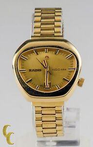 8522edd32d37 Vintage Rado NCC 444 Gold Plated Automatic Women s Watch 558.3018.2 ...