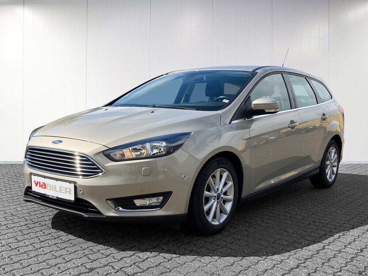Ford Focus 1,0 SCTi 125 Titanium stc. 5d - 124.900 kr.