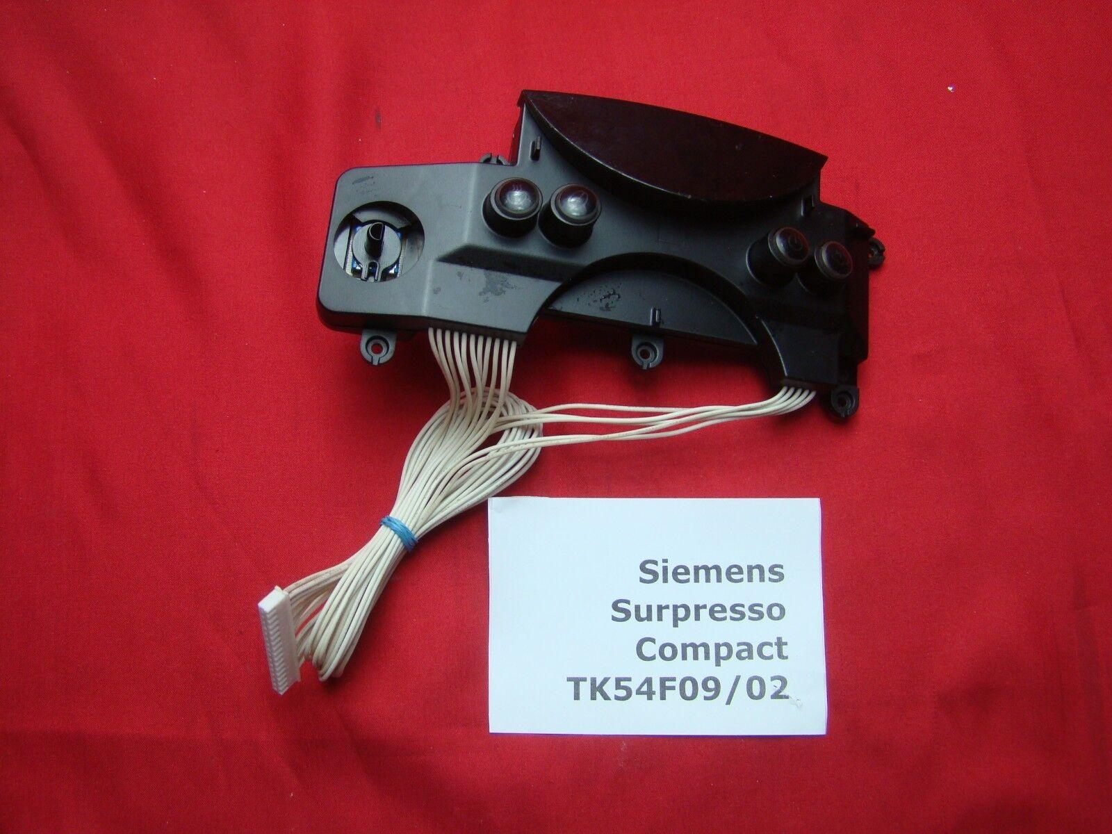 Siemens Surpresso Compact Anzeigeelektronik Print Control Board 0048219