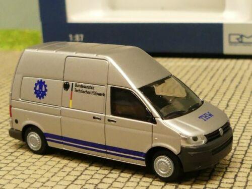 1//87 Rietze VW T5 THW Berlin 51937